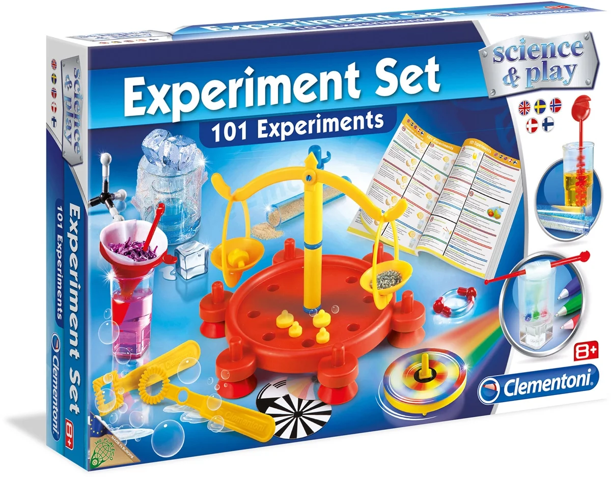 Bubblare 2: Clementoni Science & Play 101 Experiment