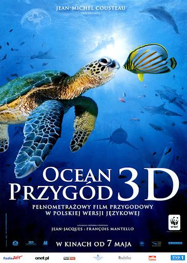 Przód ulotki filmu 'Ocean Przygód 3D'