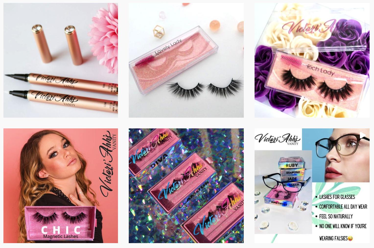Victori Ahhs Vanity   Makeup brands featured on Afluencer