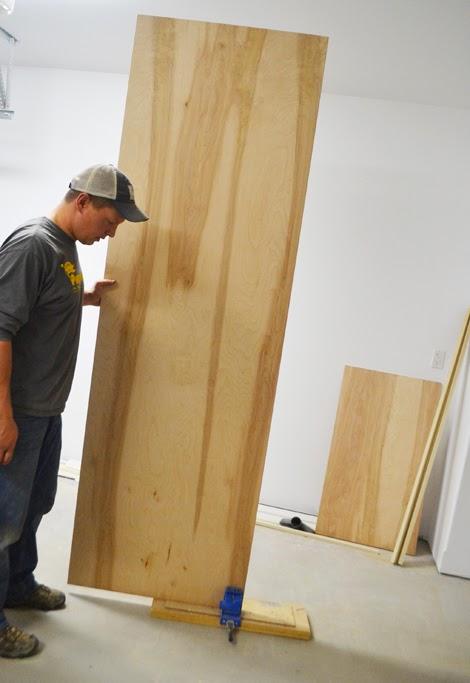 refrigerator wood panel kit