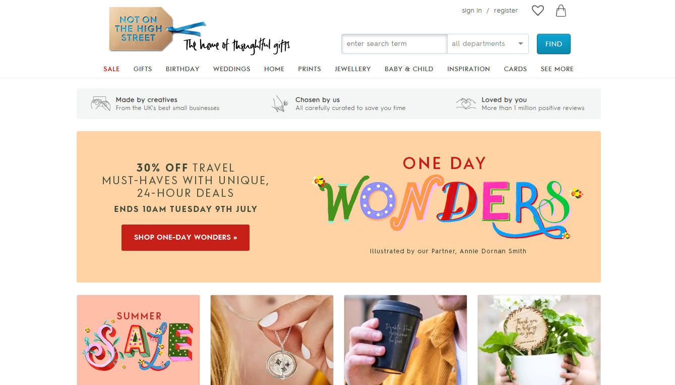 Marketplace Notonthehighstreet