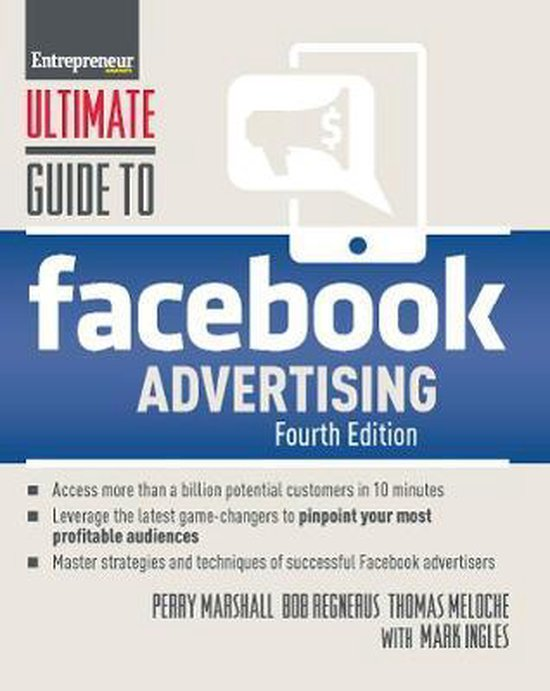 Voorbeeld boek: Ultimate Guide to Facebook Advertising