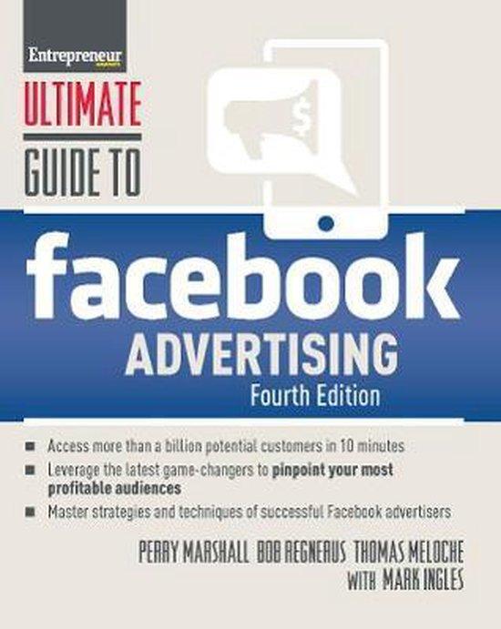 Voorbeeld boek: Ultimate Guide to Facebook Advertising