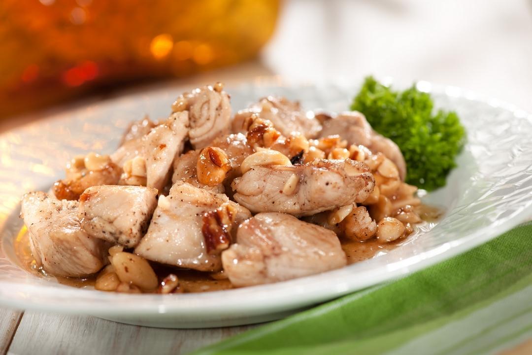 Plato de pollo con nueces Kaban