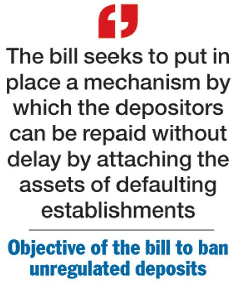 Image result for Banning of Unregulated Deposit Schemes Bill