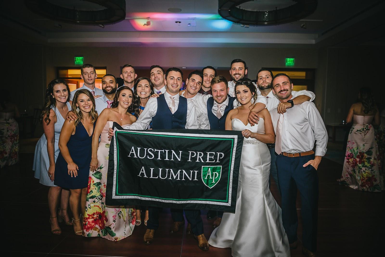 Austin Prep Alumni wedding