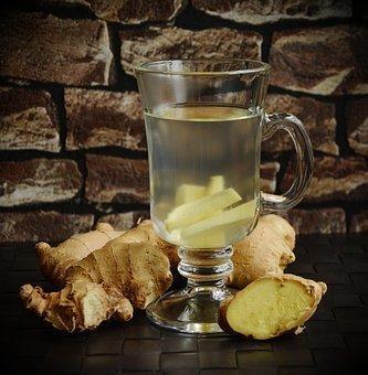 Tee, Ginger, Ginger Tea, Ginger Root