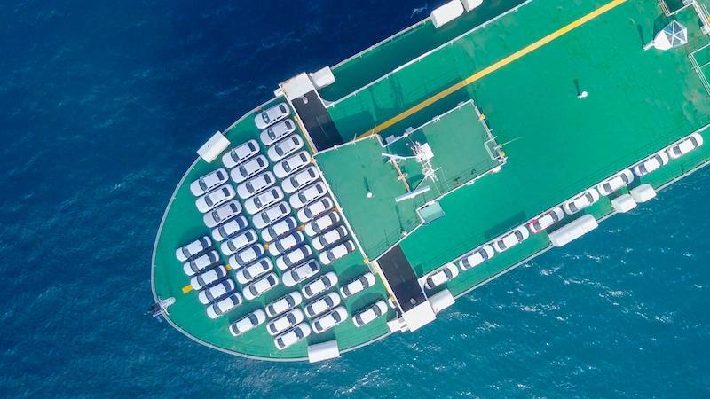 car shipping by ship