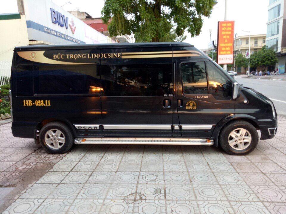 Xe Đức Trọng limousine