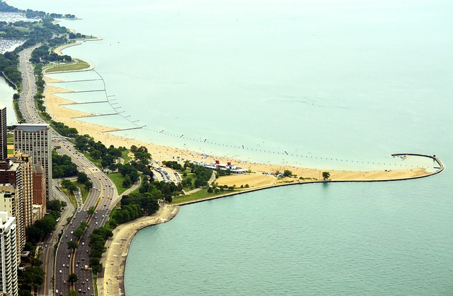 North Avenue Beach is one of the best parts of Lincoln Park in Chicago