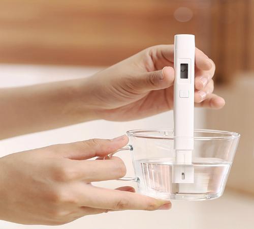 Bút thử nước giúp người dùng nhận biết một cách cơ bản về chất lượng nước mình đang sử dụng. Ảnh: RSM