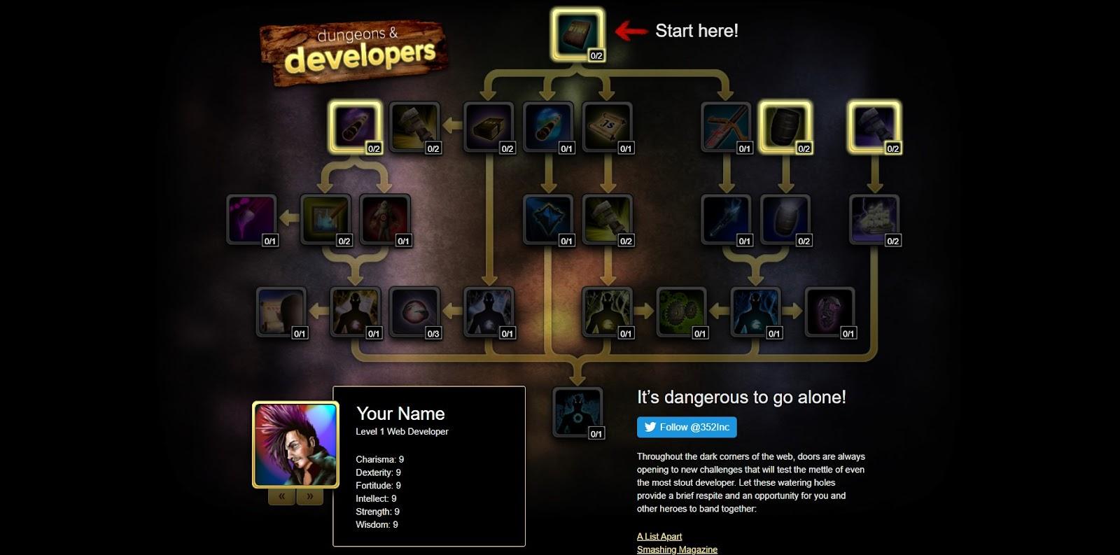 Скриншот игры Dungeons &Developers