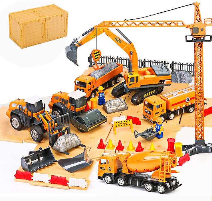 THEXIN 男の子 おもちゃ 建設工事