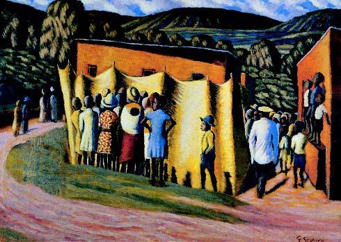 Visual Theory Gerard Sekoto 1913 1993 Nla Design And