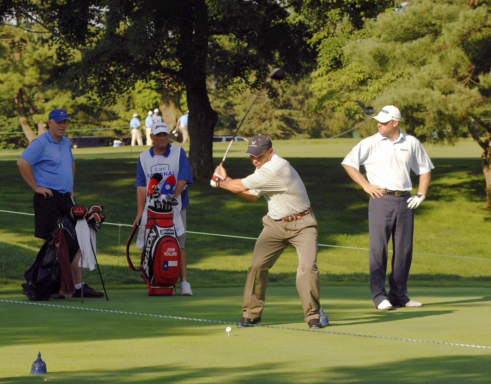 Golf rất chú trọng đến tinh thần thể thao.