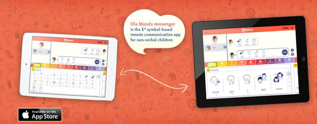 Ola Mundo – первое в мире приложение для общения аутистов
