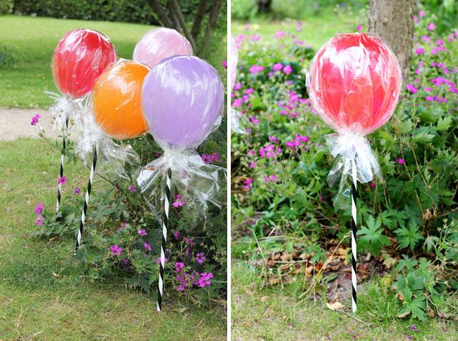 Lollipop ballons