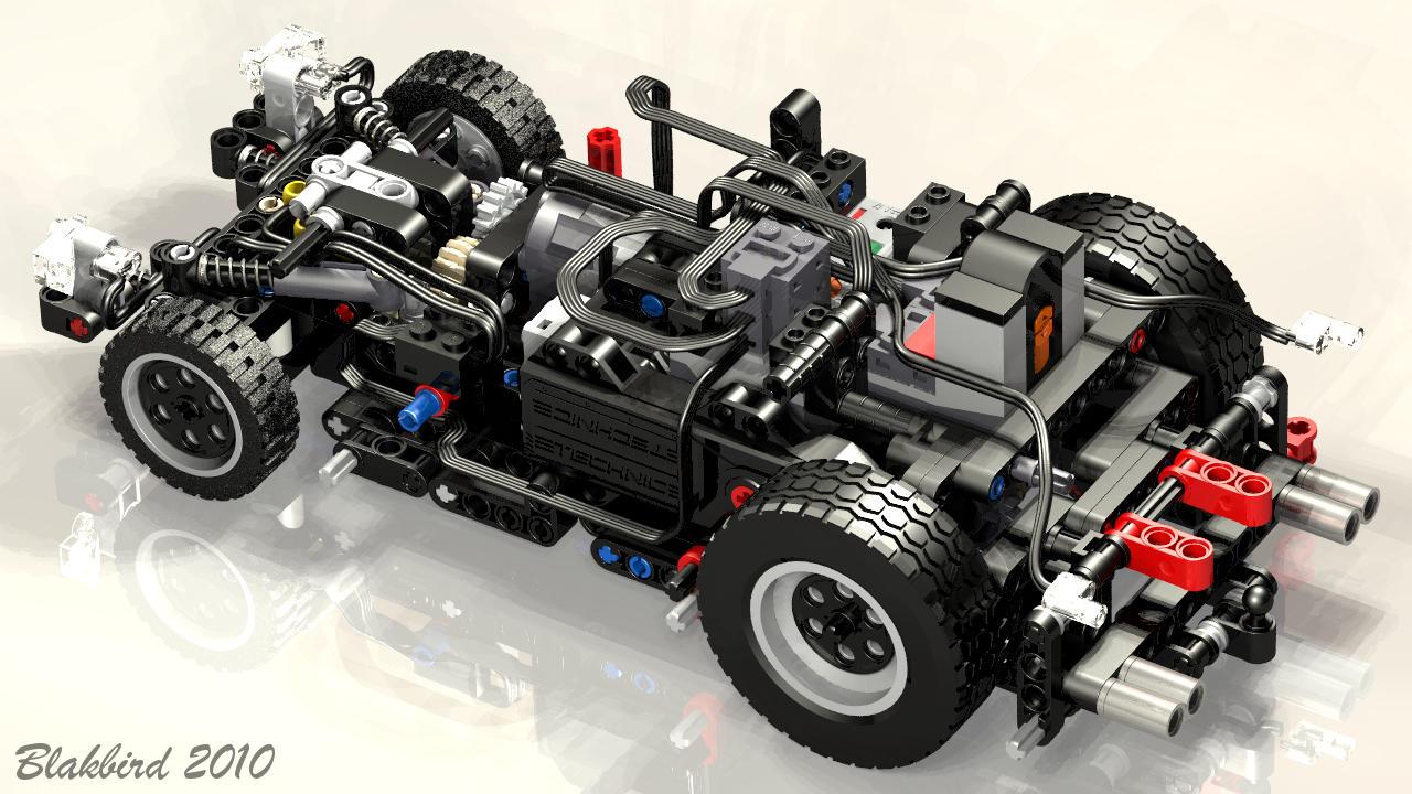 Конструкторы LEGO Technic вместо учебника по механике, фото-2