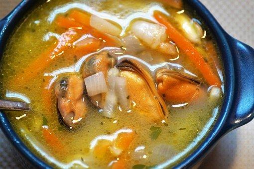 Fish Soup, Soup From Seafood