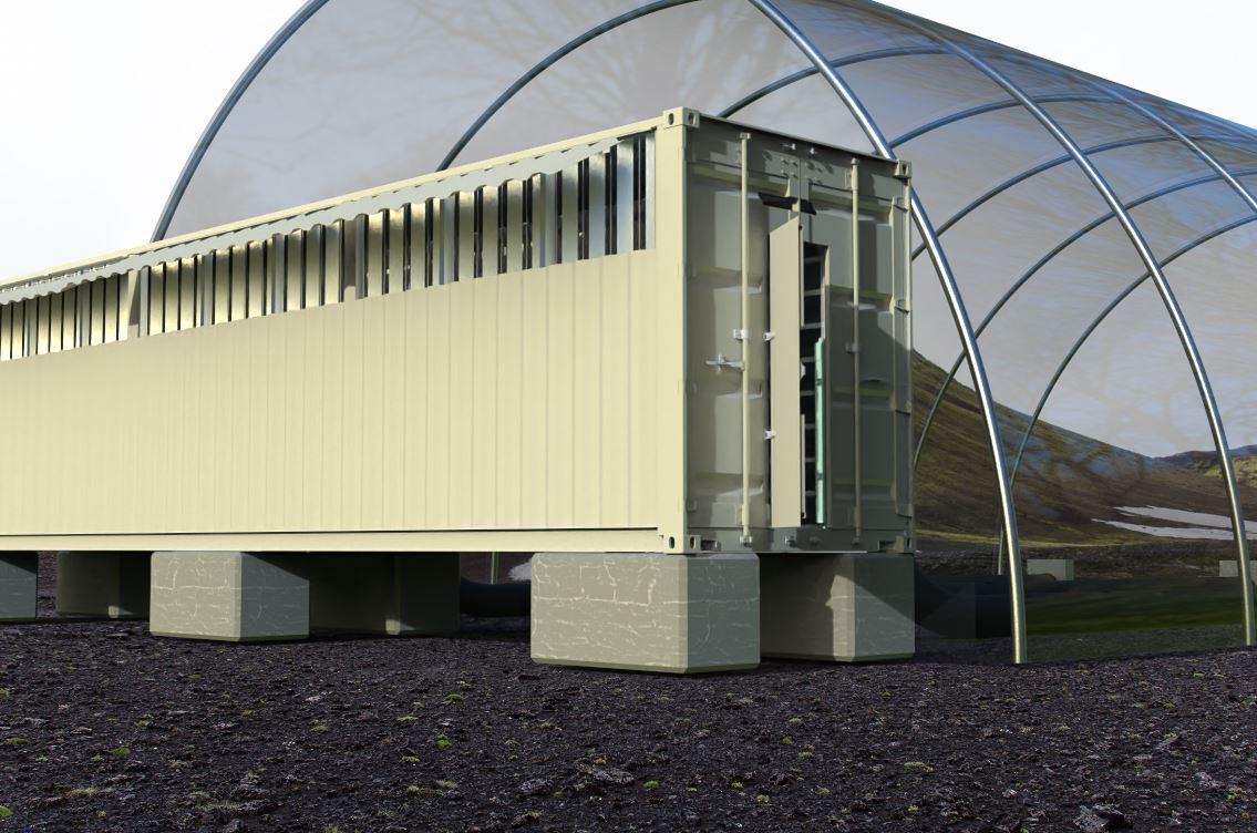 Projeto de Greenhouse da Genesis Mining - Minerado de bitcoin
