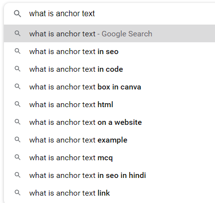 What Is Anchor Text and where to find examples