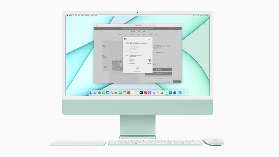 iMac M1 2021 24 inch Retina 4.5K