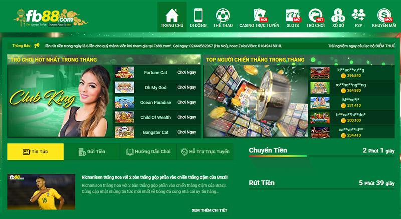 các sòng casino trực tuyến tốt nhất