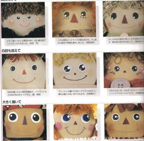 Como pintar ojos de muñecas - Imagui