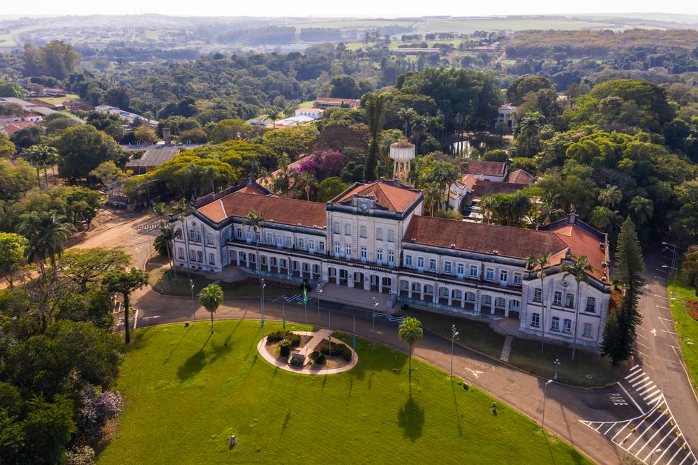 Campus da USP, em Piracicaba, é um dos centros de fomento às agtechs no Brasil. (Fonte: Shutterstock/Erich Sacco/Reprodução)