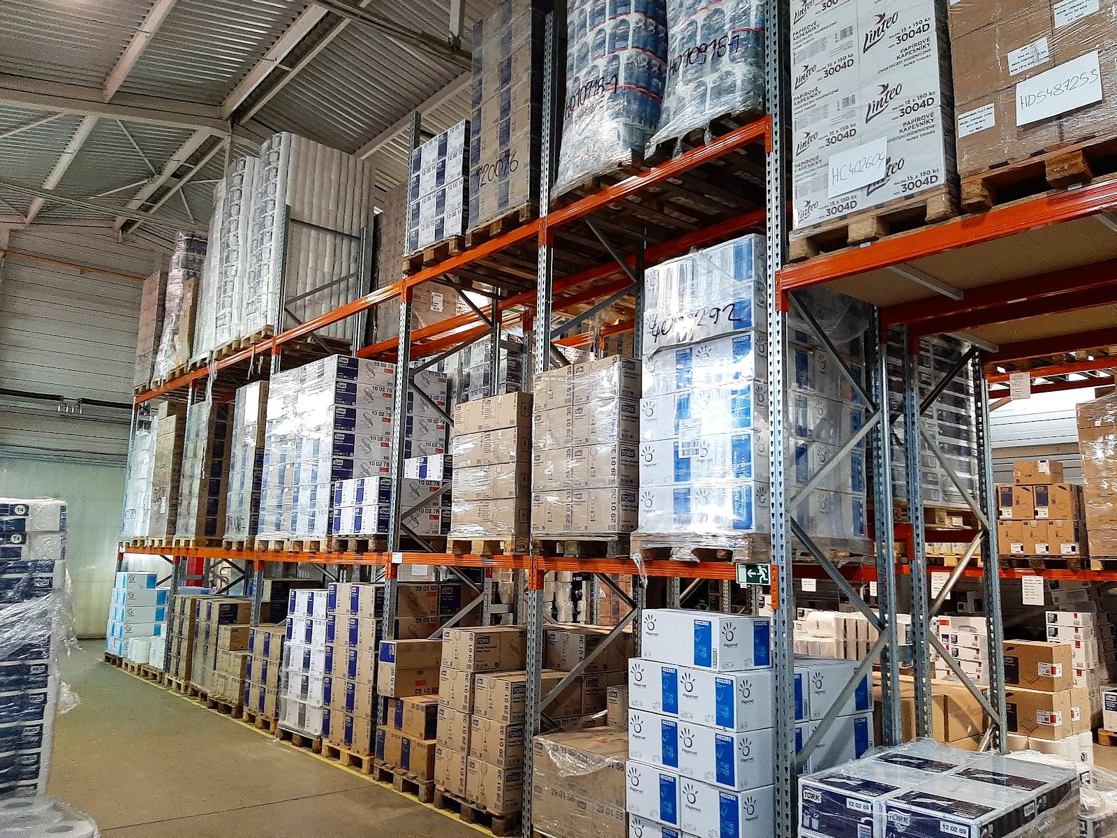 Sklad vůní FrePro a dalších FrePro produktů