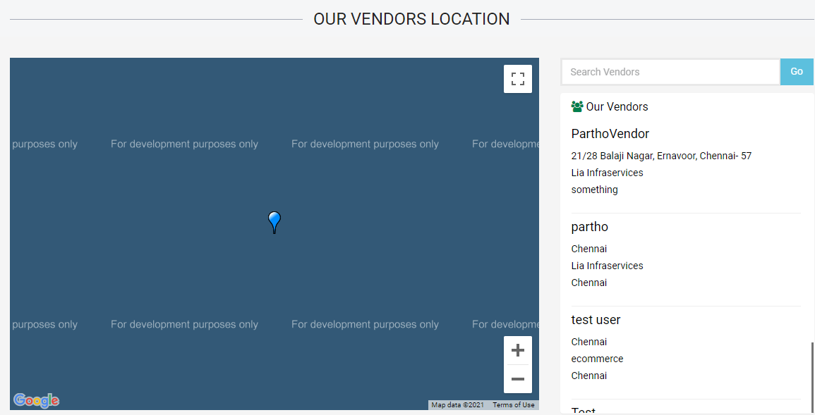 Readymade e-commerce website build-in 2 days - Google Maps API integration - lia infraservices