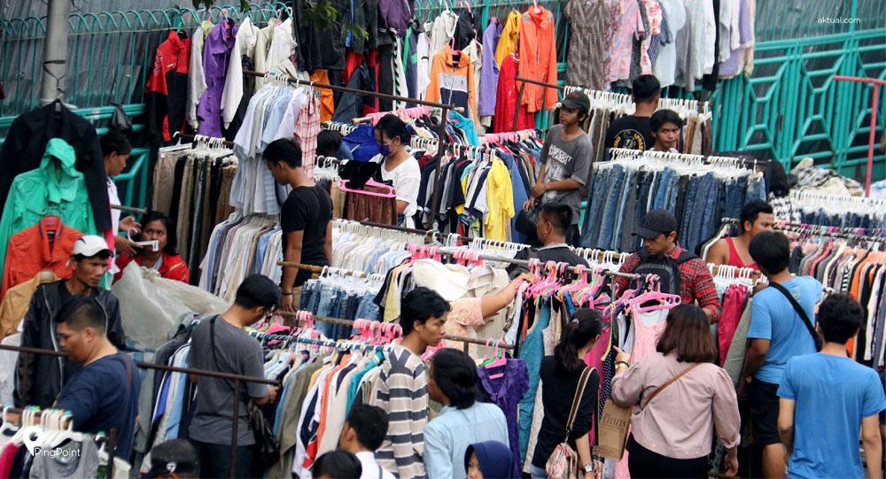 pasar senen traditional market jakarta