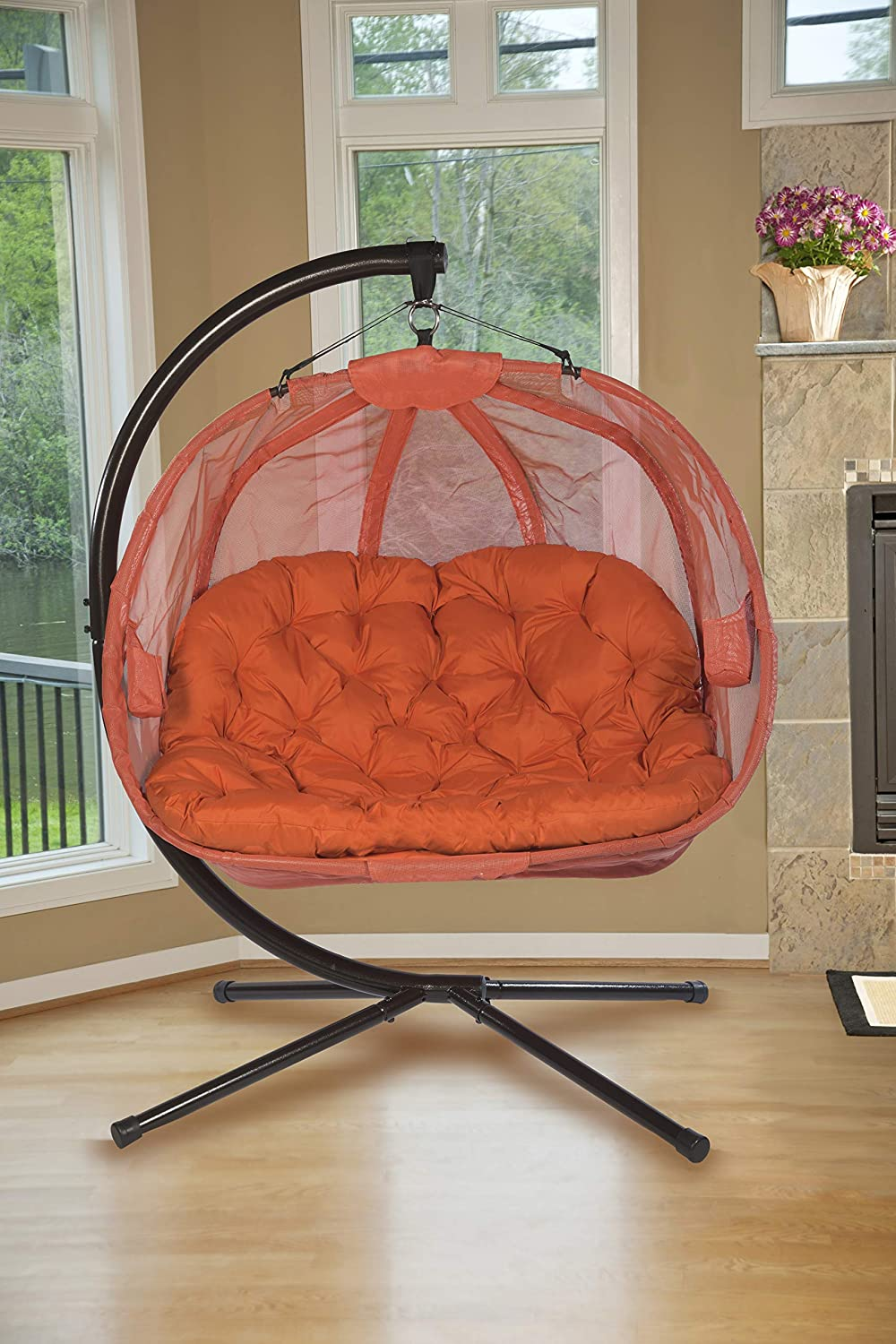 Top 10 hanging chairs for houses and gardens 2020 7