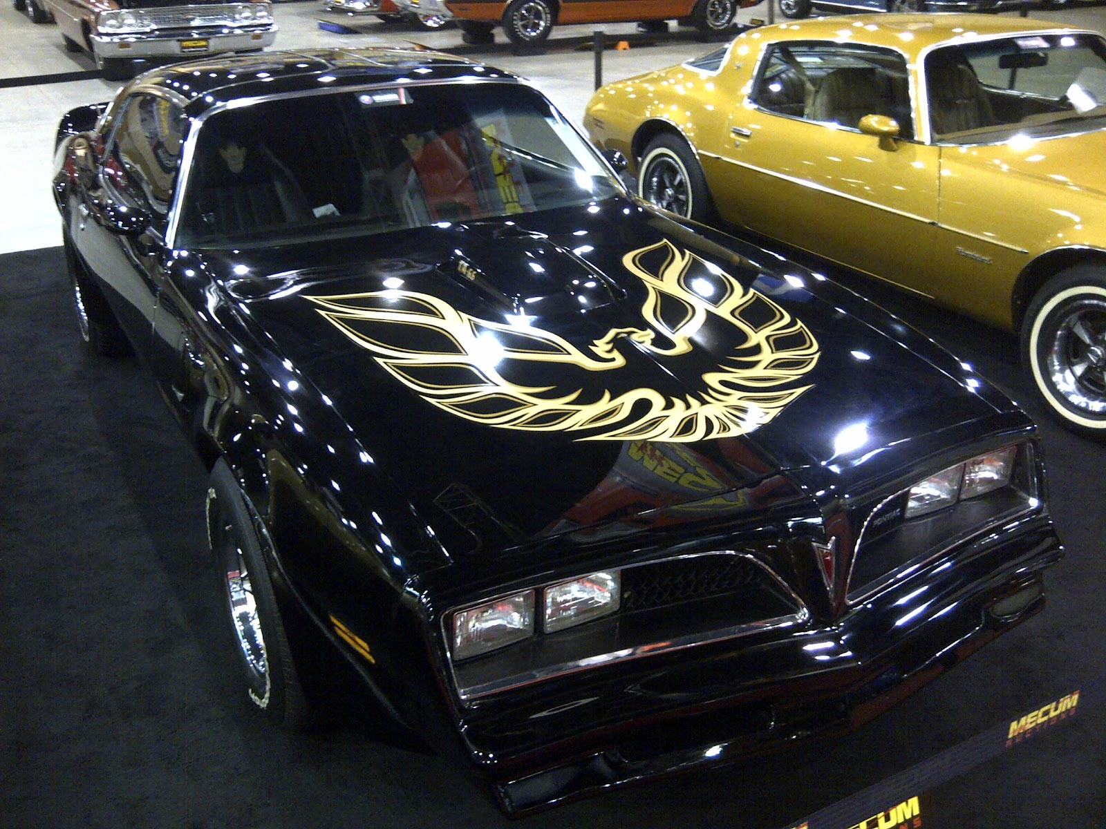 Smokey and the bandit car