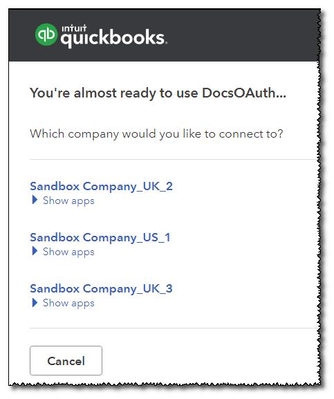 Matillion | QuickBooks Online 3rd Party OAuth Setup