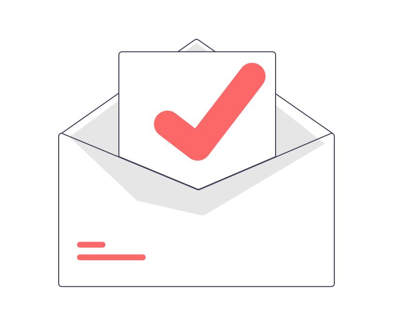 Verwende positive und motivierende Worte im emails