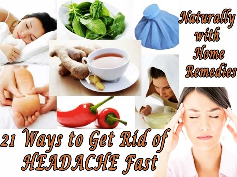 how to get rid of tension headaches at home