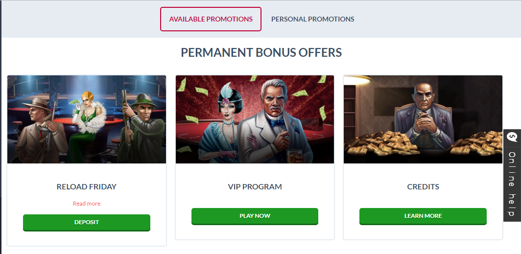 Syndicate Casino Bonus Program