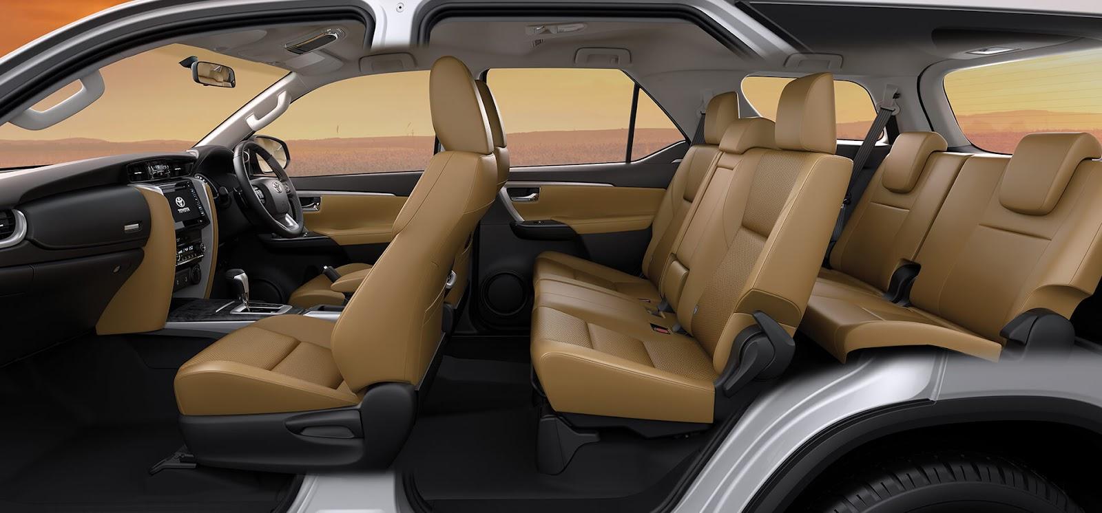 Toyota Fortuner interior image