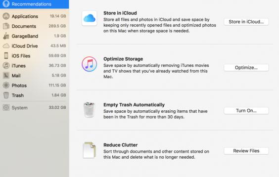 новые функции macOS High Sierra