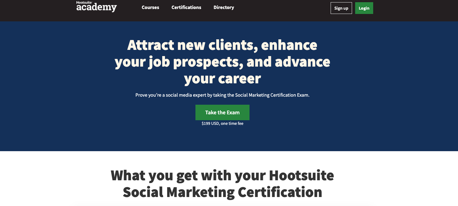 Hootsuite digital marketing tools for social media