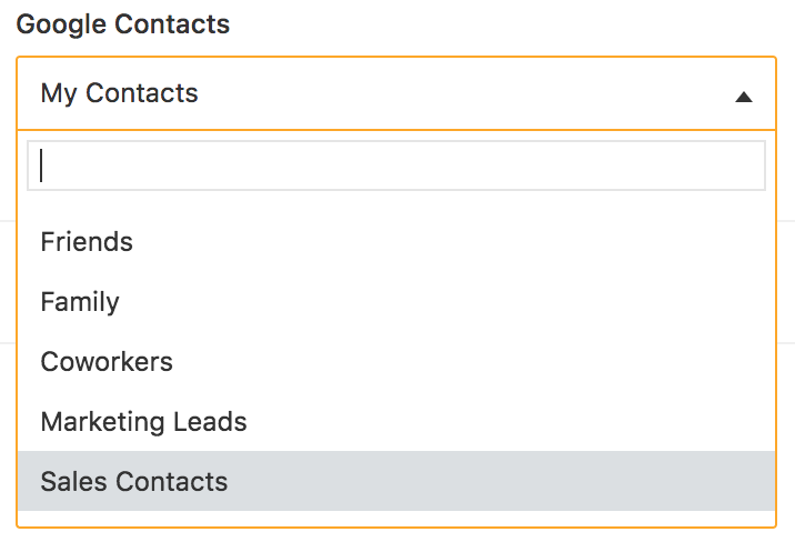 How to sync Google contacts with Freshsales : Freshsales