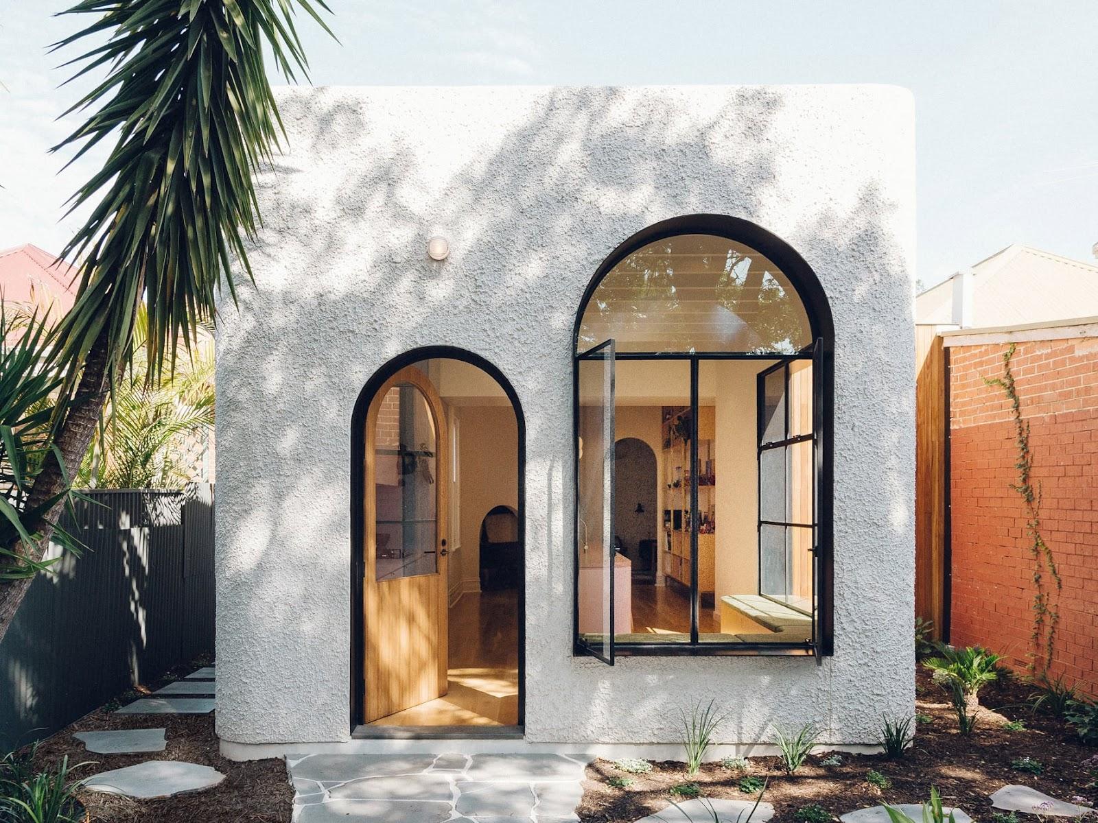Sơn hiệu ứng Waldo-Stucco ứng dụng phong cách Địa Trung Hải