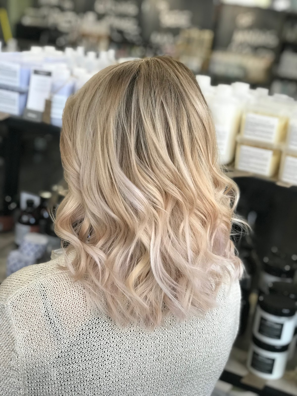 Full Balayage on Medium Hair