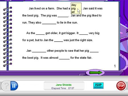 text fluency subtest