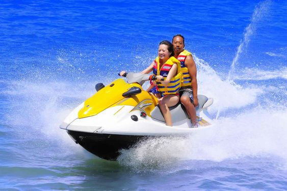 jet ski, jet ski ride water sports Bali,