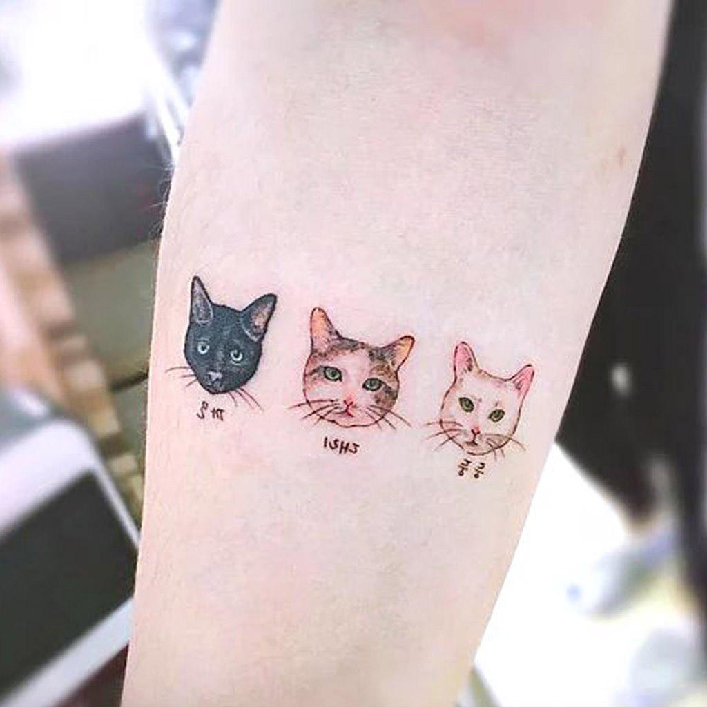 ลายสักแมวผู้หญิง5