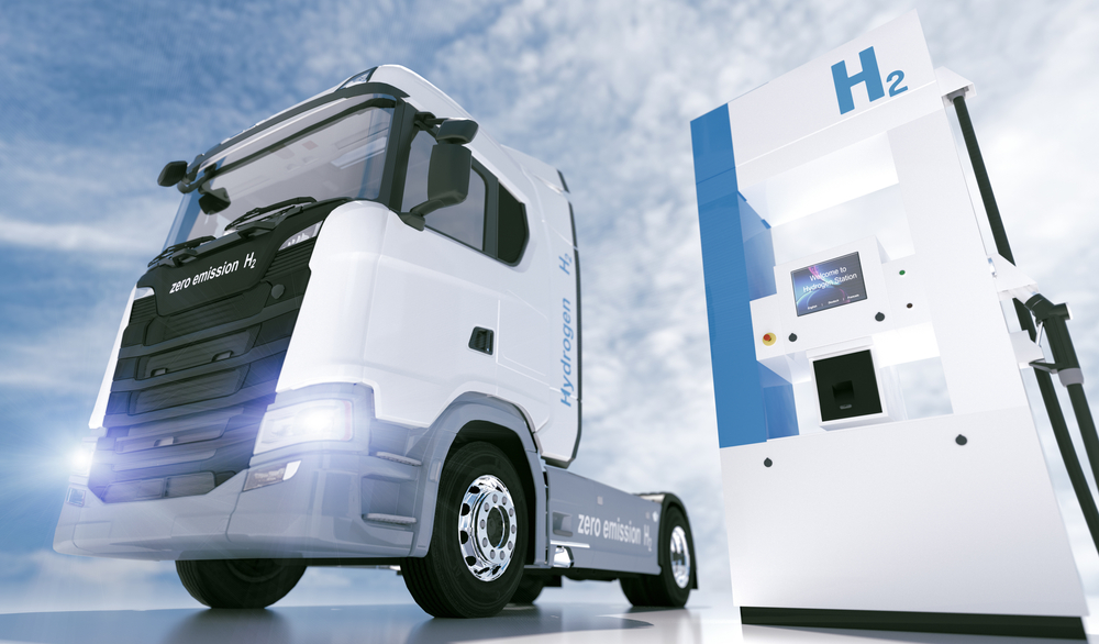 Veículos movidos a hidrogênio estão cada vez mais presentes nas ruas da Califórnia. (Fonte: Shutterstock)