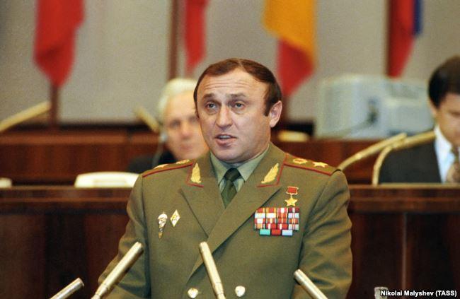 Министр обороны РФ Павел Грачев, 1992 год