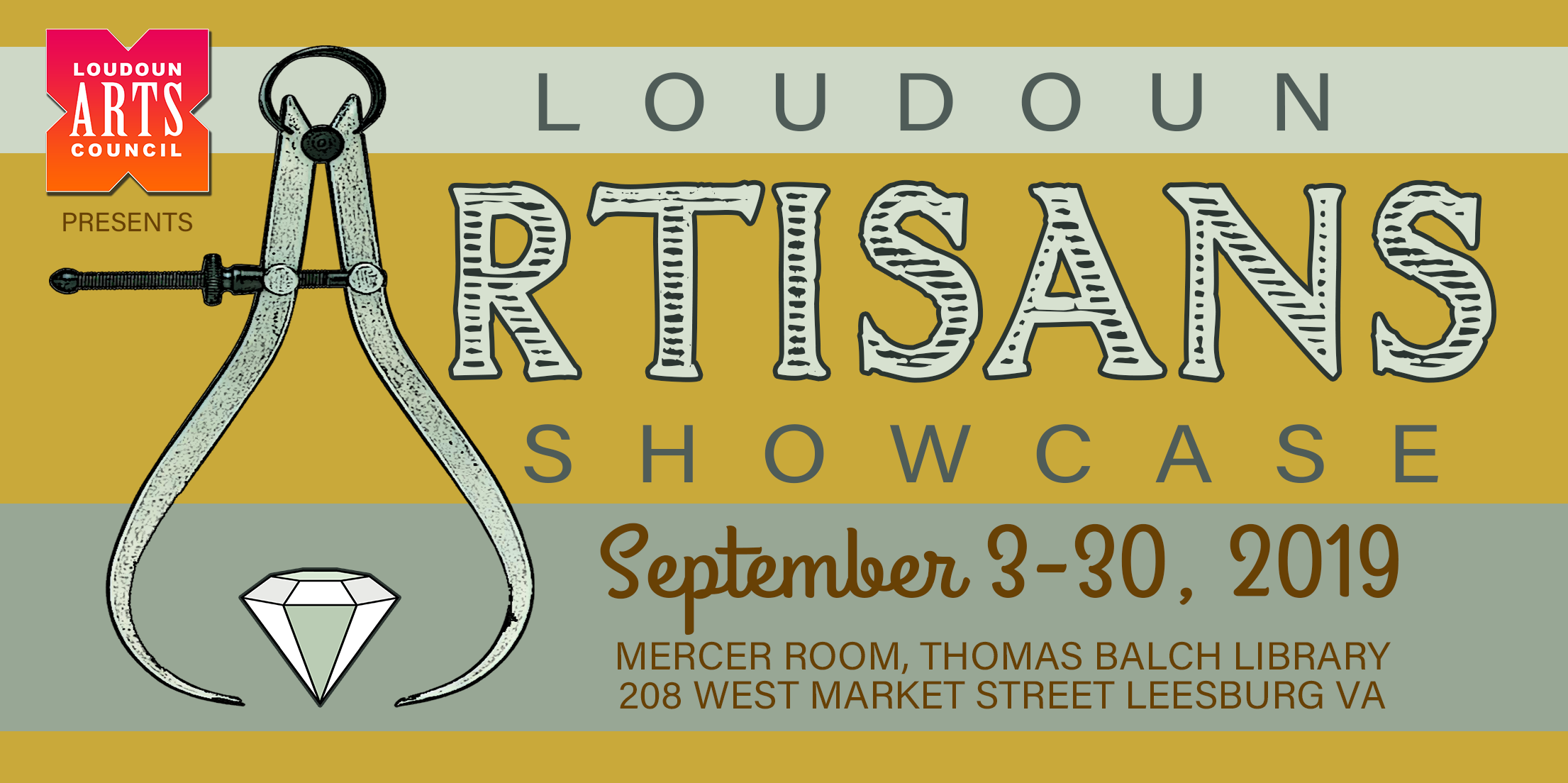 Loudoun Artisans' Showcase - September 3-30, 2019